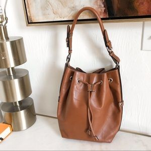 Talbots Brown Bucket Bag